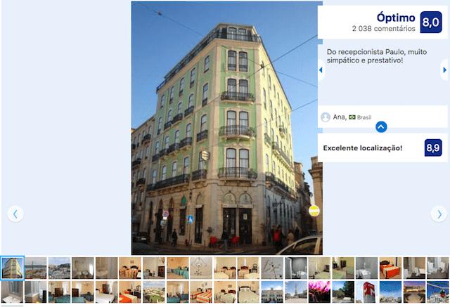 Pensão Londres en Lisboa