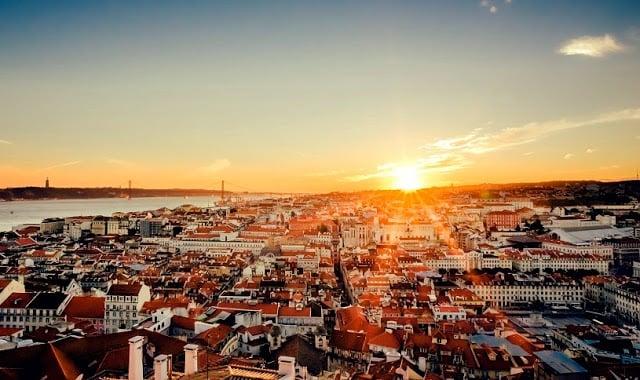 Lisboa - atardecer y vistas
