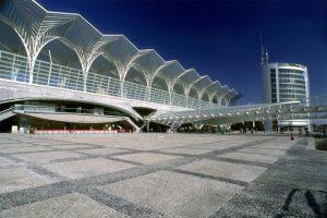 Estación Oriente en Lisboa