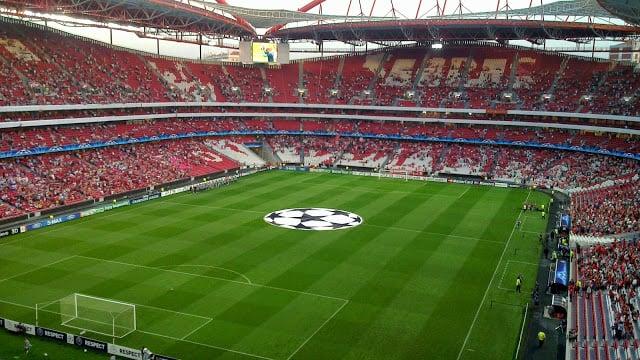 Estádio da Luz en Lisboa