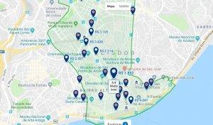 Hoteles en el centro de Lisboa