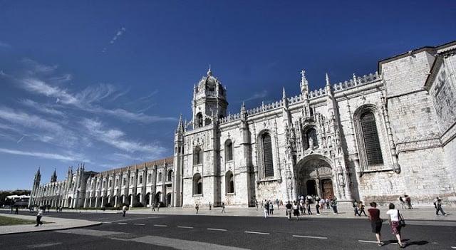 Mosteiro dos Jerónimos en Lisboa
