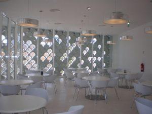 Restaurante Tejo en el Oceanário de Lisboa