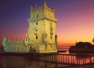 Torre de Belém al atardecer