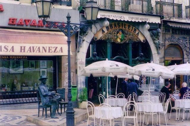 Café A Brasileira en Lisboa