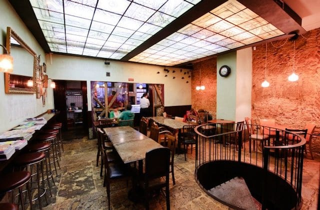 Café Vertigo en Lisboa