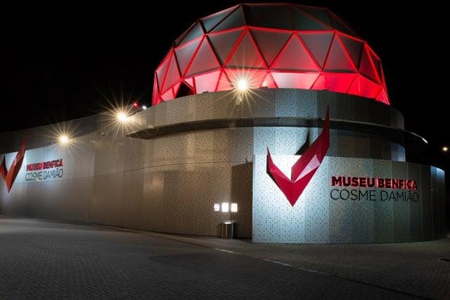 Visita al Museo del Estadio da Luz