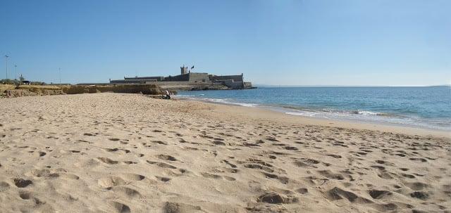 Praia de Carcavelos en Portugal