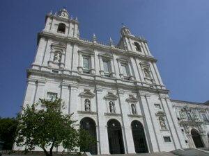 Iglesia de São Vicente de Fora en Lisboa