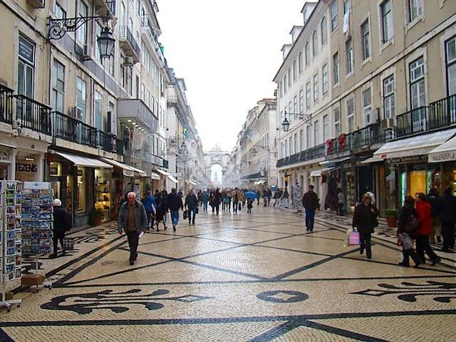 Frío en Lisboa