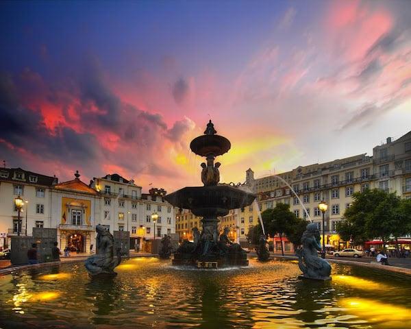 Luna de miel en Lisboa