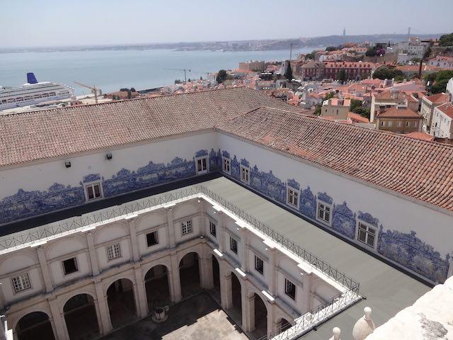 Vista desde la terraza del Monasterio de São Vicente de Fora
