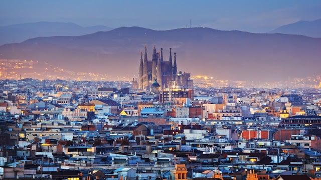 Viaje en auto de Lisboa a Barcelona