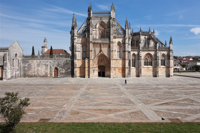 Monasterio da Batalha en Portugal