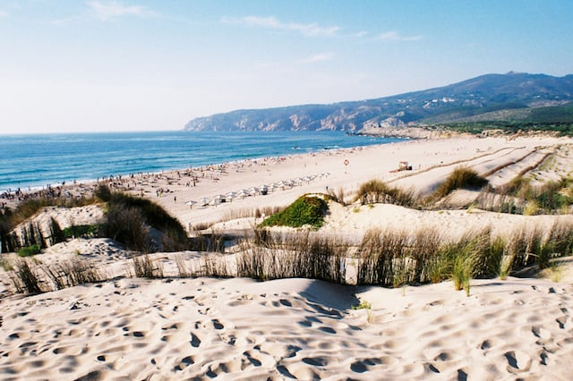 Playa de Guincho en Cascais