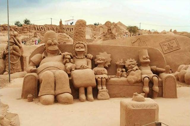 Festival Internacional de la Escultura de Arena en Algarve