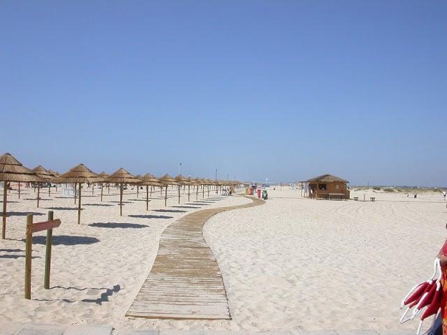 Isla de Tavira en Algarve