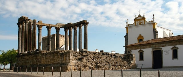 Templo Romano de Diana en Évora