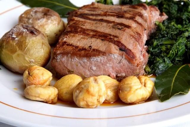Gastronomía de Braganza