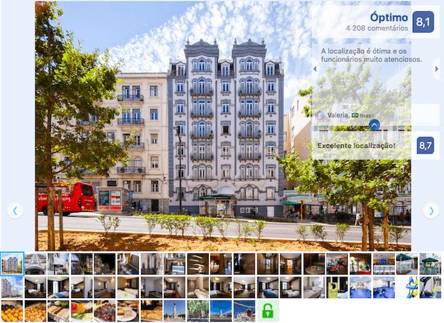 Hotel Expo Astoria en Lisboa