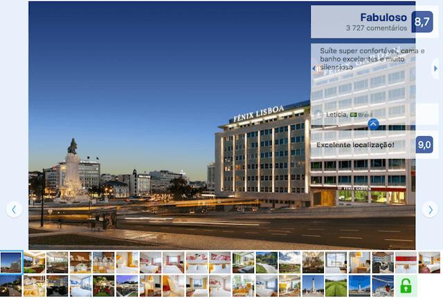 Hotel Fénix Garden en Lisboa