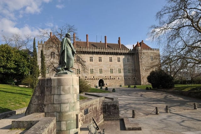 Paço dos Duques de Braganza en Guimarães