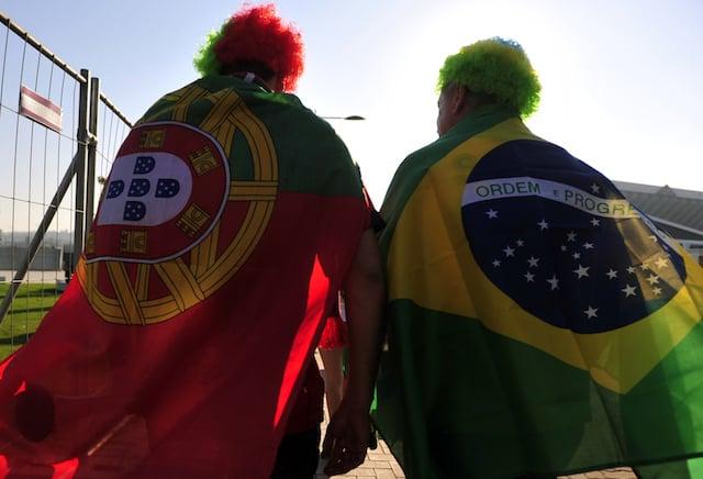 Portugués y brasileño