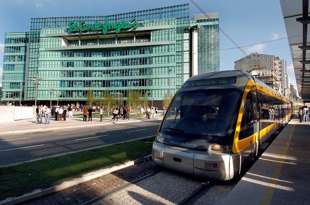 Tienda de departamentos en Oporto