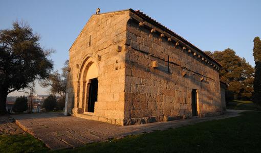 Iglesia São Miguel en Guimarães