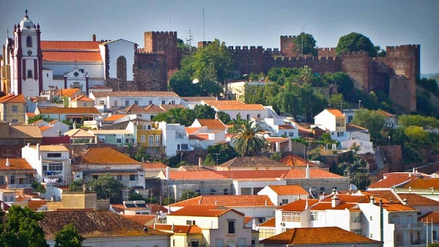 Vila de Silves en Algarve