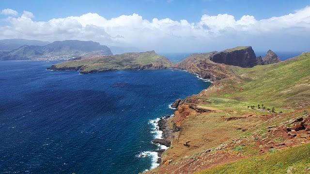 Punta de San Lorenzo en la Isla de Madeira