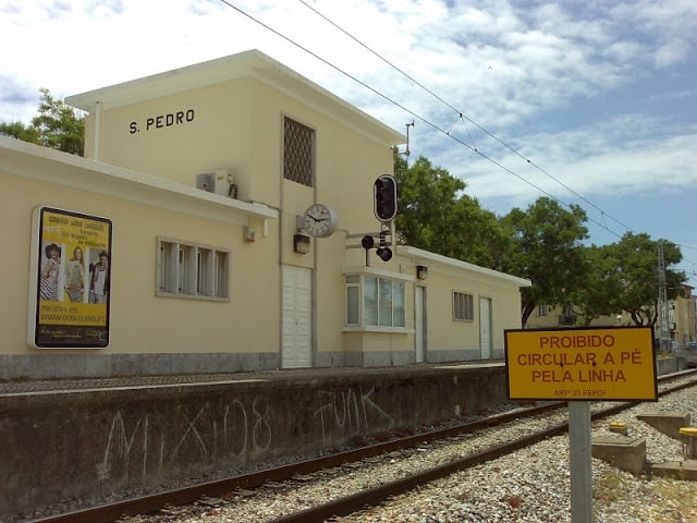 Estación de tren de S. Pedro do Estoril
