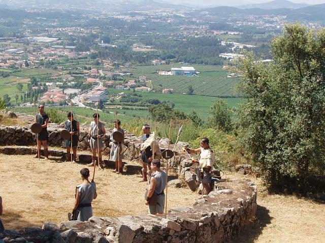 Citania de Briteiros en Guimarães