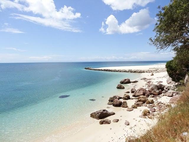Praia da Figueirinha en Setúbal