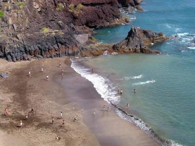 "Playa ""Prainha"" en Punta de San Lorenzo"