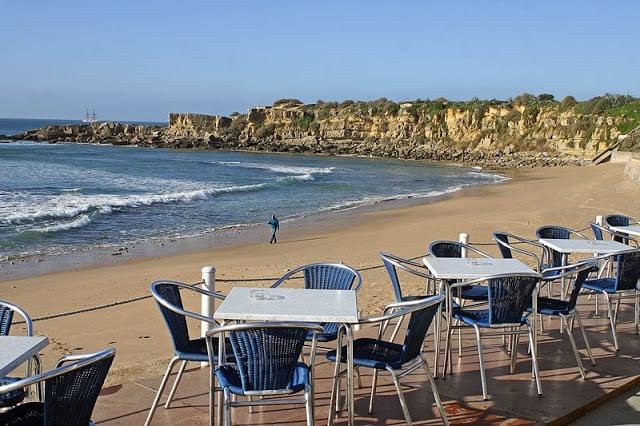Restaurantes en la Praia de São Pedro do Estoril