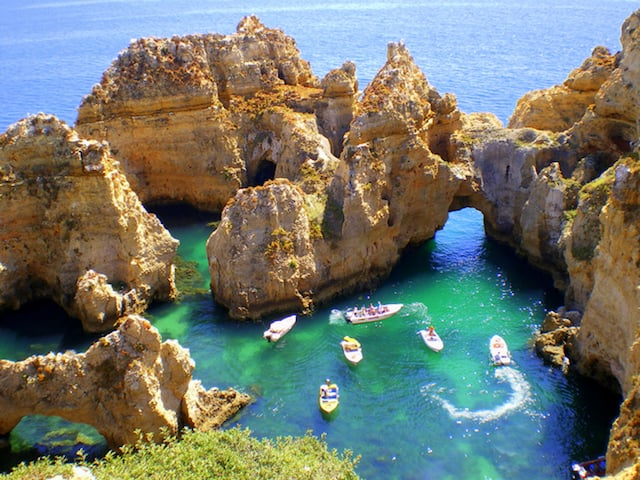 Ponta da Piedade en Algarve